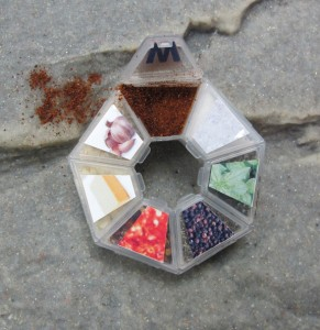 Circular Pill Case Spice Kit - 7 Spices