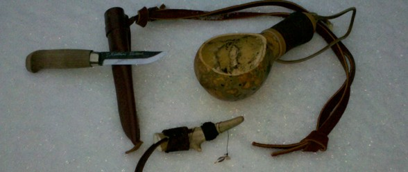 Bushcraft Ice Fishing Set