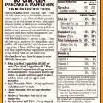 Bob's Red Mill 10 Grain Pancake & Waffle Mix - LABEL BACK