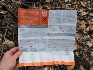 Bear's Survival Booklet - OPEN