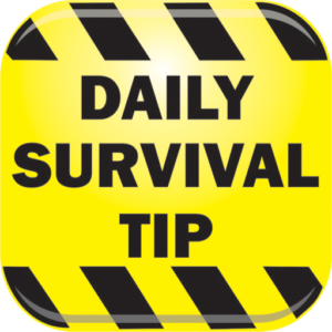 Daily Survival Tip Cell Phone App Icon