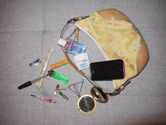 Improvised Purse Survival – 6/6/12