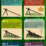 Survival Infographic: How To Build a Cold Weather Debris Hut