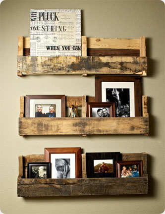 make recycled wood projects