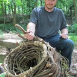How to Make a Primitive Funnel Fish Trap that keeps on giving.