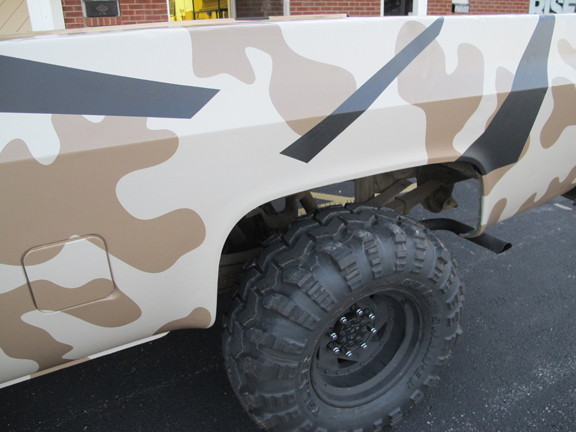 Bug Out Vehicle (BOV) Chronicles: The Urban Camo Layer : Series Post #5