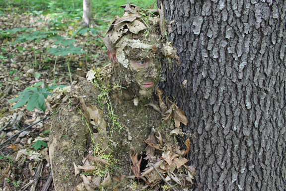 How To Disappear In The Wilderness A Natural Camouflage
