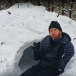 How to Build a Quinzee Snow Shelter For Winter Camping [FREE DOWNLOAD: Quinzee Checklist]